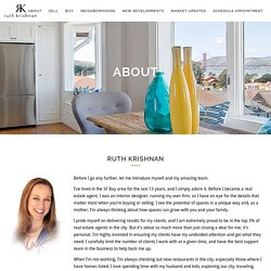 Ruth Krishnan - Top SF Realtor