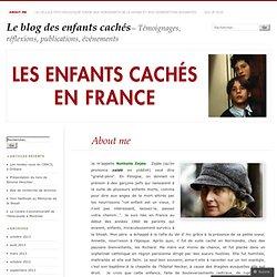 About me « Le blog des enfants cachés