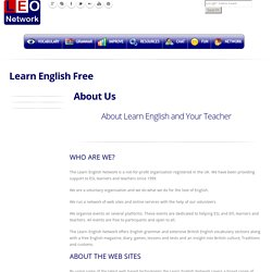 About Learn English, About Your Teacher