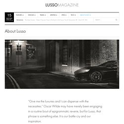 About Lusso
