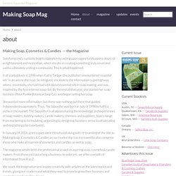 about - Making Soap Mag