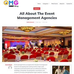 All About The Event Management Agencies