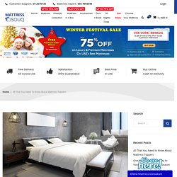 All That You Need to Know About Mattress Toppers - Mattress Store Online