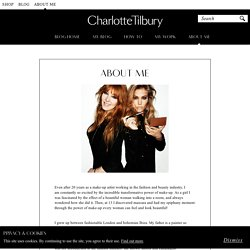 About Me - Charlotte Tilbury