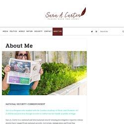 About Me - Sara A. Carter