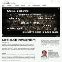 About – MediaLAB Amsterdam