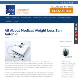 All about Medical Weight Loss Treatment