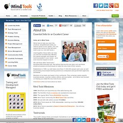 About Mind Tools
