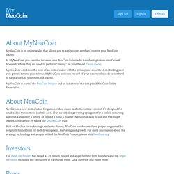 About - MyNeuCoin