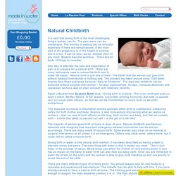 Looking for natural childbirth solutions? Check out Made In Water