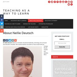 About Nellie Deutsch – Teaching as a Way to Learn