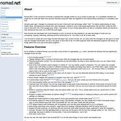 About - nomad.en
