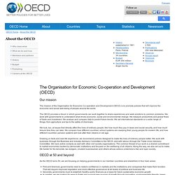 About OECD