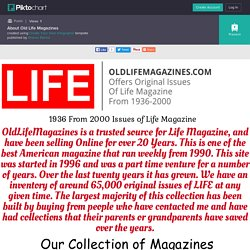 About Old Life Magazines