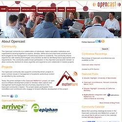 Matterhorn Pilot Profiles | Opencast