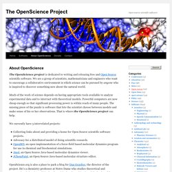The OpenScience Project
