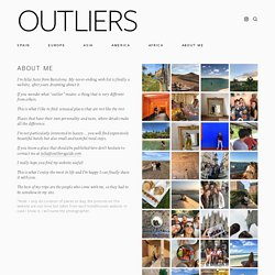 ABOUT — OUTLIERS