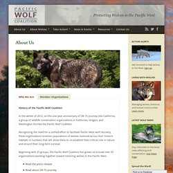 About Us - Pacific Wolf Coalition