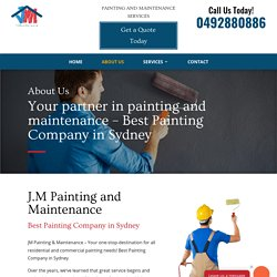 Painting And Maintenance Company
