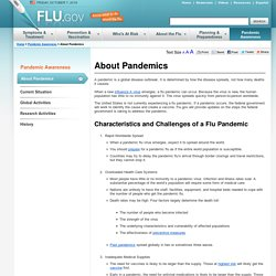 About Pandemics