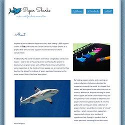 Paper Sharks