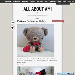 Pattern: Valentine Teddy
