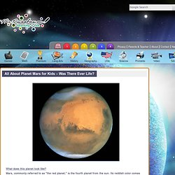 All About Planet Mars for Kids – Was There Ever Life? «