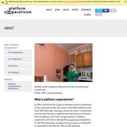 About: Platform Cooperativism