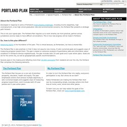 The Portland Plan