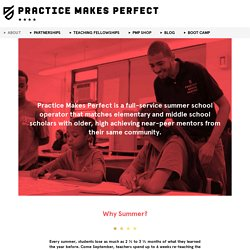 About - Practice Makes Perfect