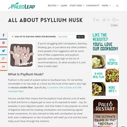 All About Psyllium Husk