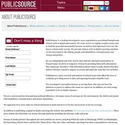 About PublicSource