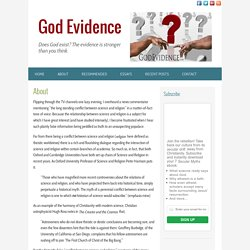 About - Purpose of God Evidence