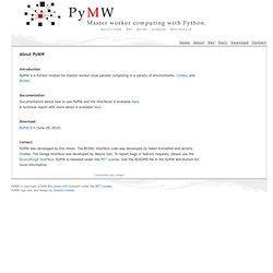 About PyMW « PyMW