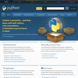 About Python™