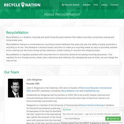 About RecycleNation