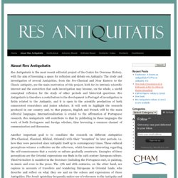 About Res Antiquitatis