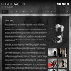 Roger Ballen Photography