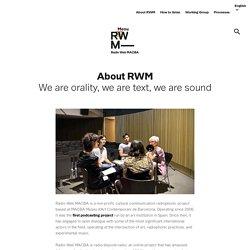 RWM Ràdio Web MACBA