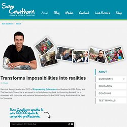 About - Sam Cawthorn
