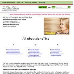 Know all About Sanotint - Your Natural Hair Dye with Ingredients, Use and More