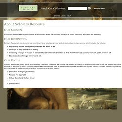 About Scholars Resource