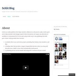 SciGit Blog
