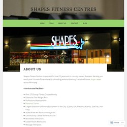 About Us – Shapes Fitness Centres