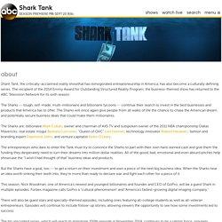 About Shark Tank TV Show Series