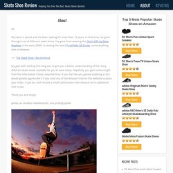 About Skate Shoe Review