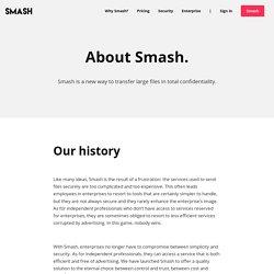 About Smash — Smash