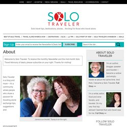 Solo Traveler Blog