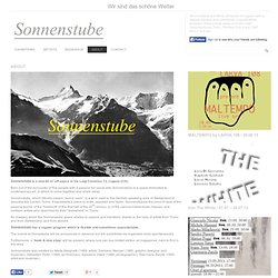 ABOUT « Sonnenstube