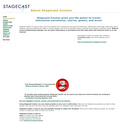 About Stagecast Creator